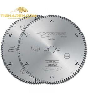 تیغ اره دیسکی الماسه برش چوب و لمینت بی صدا INTERNATIONAL 300×30×3.2-Z96