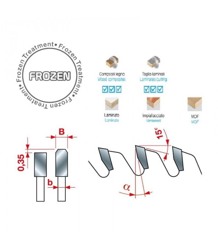 تیغ اره دیسکی الماسه پانل بر INTERNATIONAL 350×30×4.4-Z96