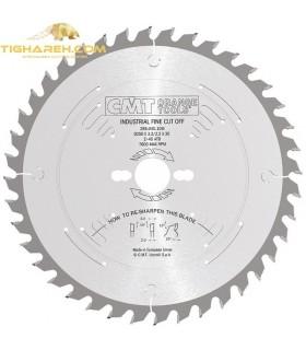 تیغ اره دیسکی الماسه چوب بر CMT 250×30×3.2-Z60