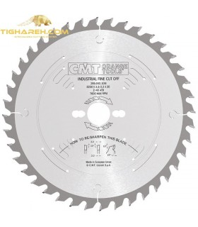 تیغ اره دیسکی الماسه چوب بر CMT 350×30×3.5-Z72