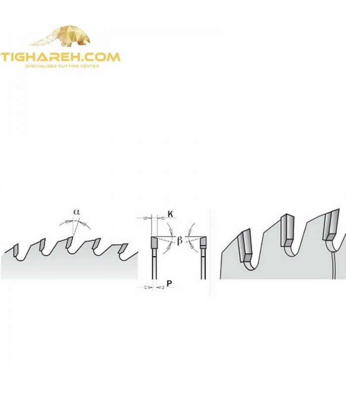 تیغ اره دیسکی الماسه جنرال CMT 180×30×3.2-Z56