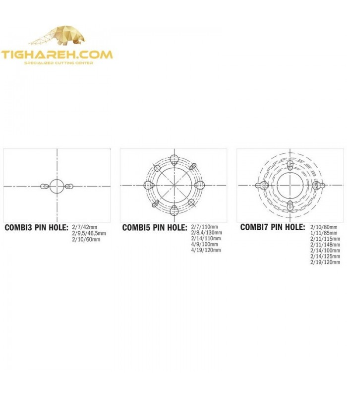 تیغ اره دیسکی الماسه جنرال CMT 400×30×3.5-Z96