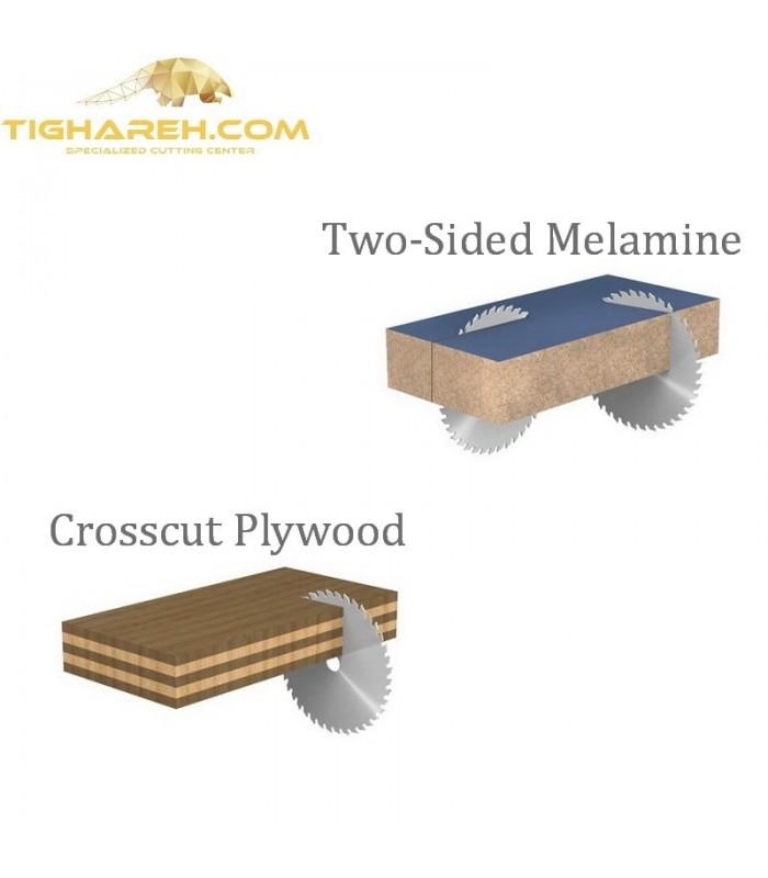 تیغ اره دیسکی الماسه MDF کروم CMT 350×30×3.5-Z108