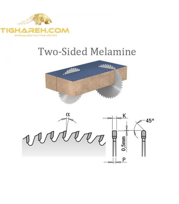 تیغ اره دیسکی الماسه پانل بر CMT 350×30×4.4-Z72