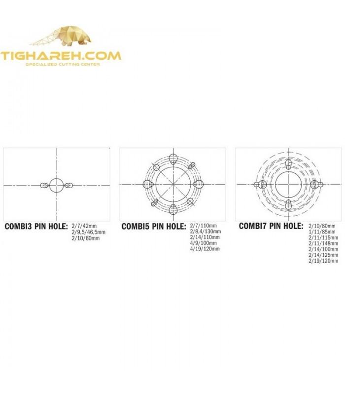تیغ اره دیسکی الماسه پانل بر CMT 400×75×4.4-Z72