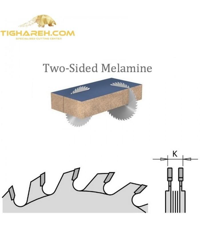تیغ اره دیسکی الماسه خط زن دو تیکه  CMT 120×20×3.6-Z12+12