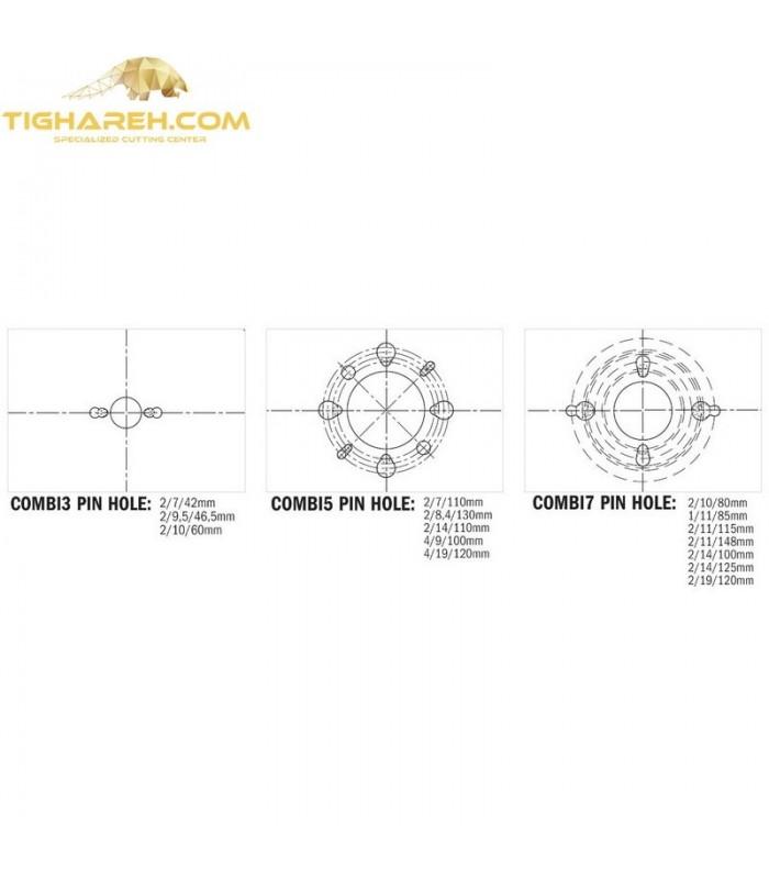 تیغ اره دیسکی الماسه خط زن دو تیکه CMT 125×20×3.6-Z12+12