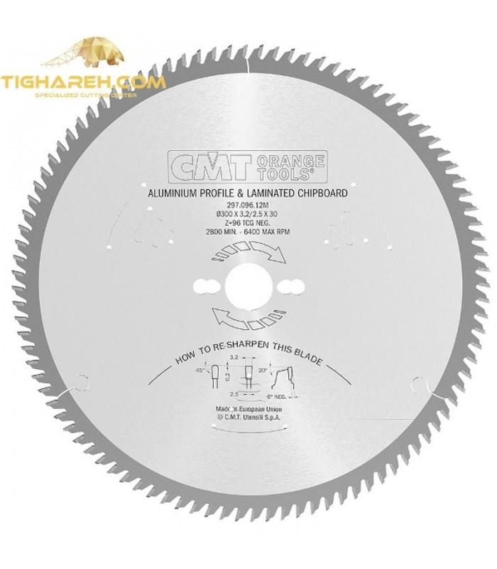 تیغ اره دیسکی الماسه آلومنیوم بر CMT 250×32×3.2-Z80