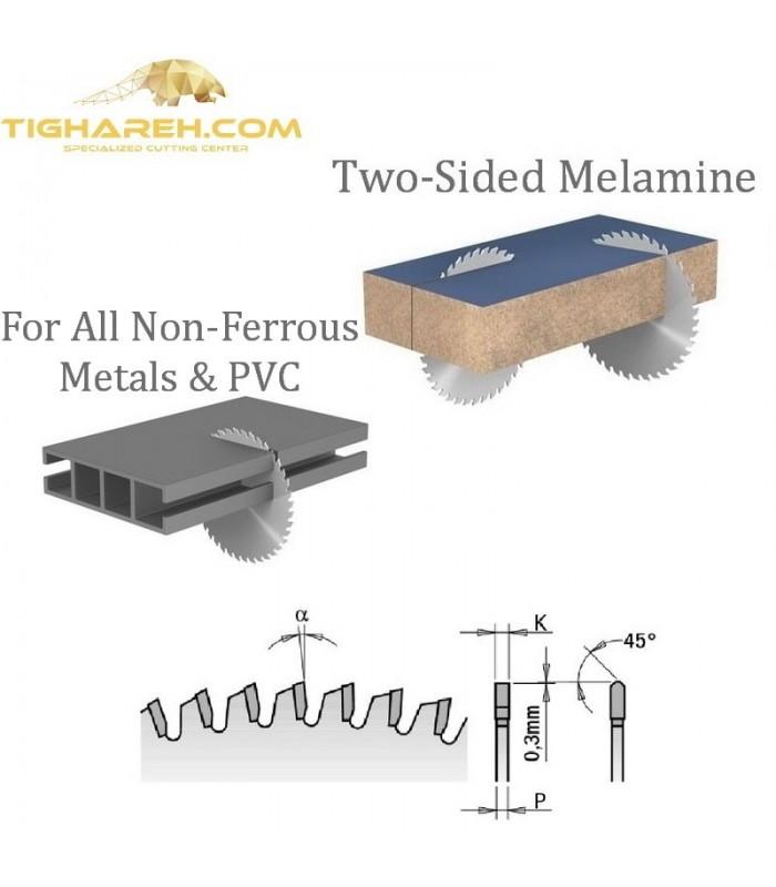 تیغ اره دیسکی الماسه آلومینیوم بر CMT 30×32×3.2-Z108