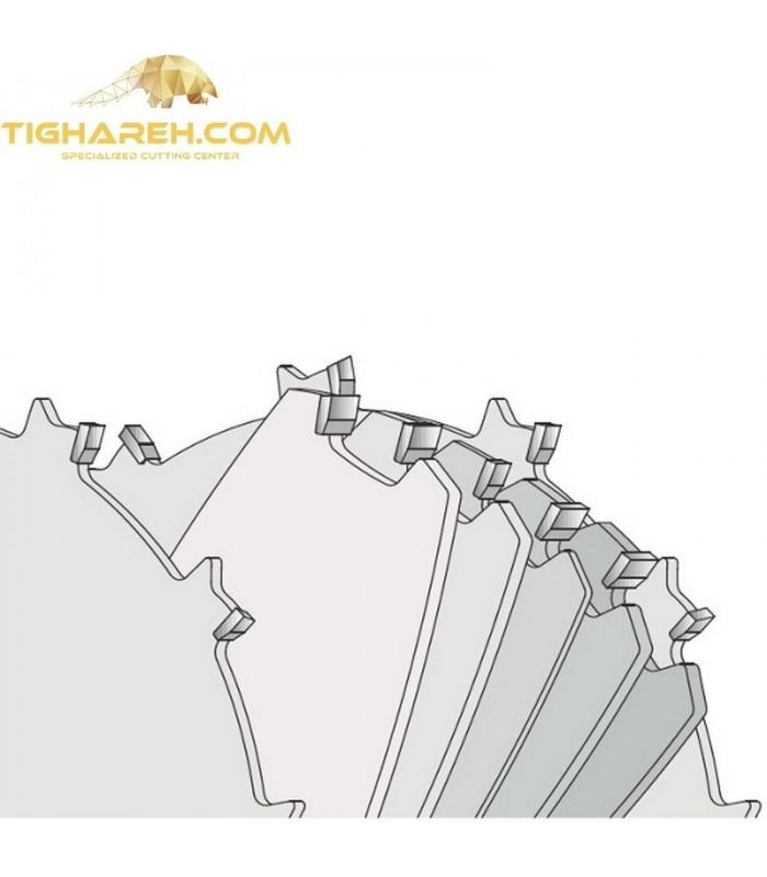 تیغ اره دیسکی الماسه شیار زن متغیر CMT 200×30-Z24