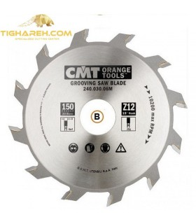 تیغ اره دیسکی الماسه شیار زن CMT 180×35×4.0-Z18