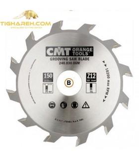 تیغ اره دیسکی الماسه شیار زن CMT 150×35×6.0-Z12