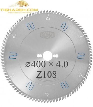 تیغ اره دیسکی الماسه آلومینیوم بر STARK 400×32×4.0Z108