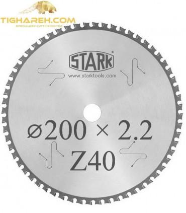 تیغ اره دیسکی الماسه جنرال STARK 200×30×2.2Z40