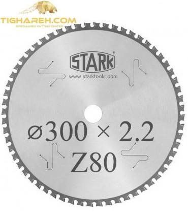 تیغ اره دیسکی الماسه جنرال STARK 300×30×2.2Z80