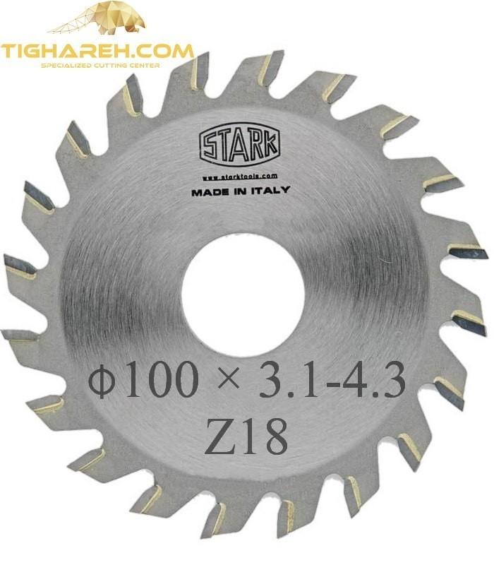 تیغ اره دیسکی الماسه خط زن کونیکال STARK 100×20×3.1-4.3-Z18