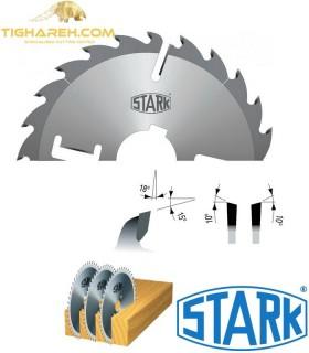 تیغ اره دیسکی الماسه پانل بر چوب STARK 300×70/80×3.2-Z24+4