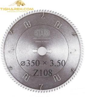 تیغ اره دیسکی الماسه پانل بر فلز STARK 300×30×3.5-Z108