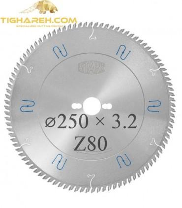 تیغ اره دیسکی الماسه ملامینه  STARK 250×30×3.2-Z80
