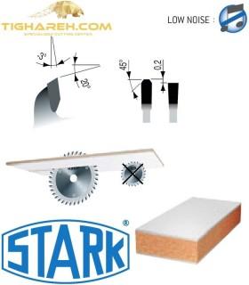 تیغ اره دیسکی الماسه ام دی اف بر کروم سوپر کات STARK 300×30×3.2-Z96