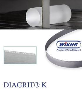 تیغ اره نواری با پوشش الماسه (مقاطع کوچک) - WIKUS DIAGRIT K