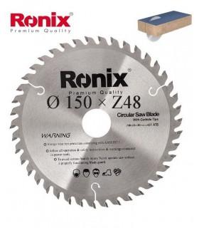 تیغ اره دیسکی الماسه MDF بر Ronix 150×30×Z48