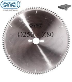 تیغ اره دیسکی الماسه آلومینیوم بر ONCI 250×32×3.2-Z80