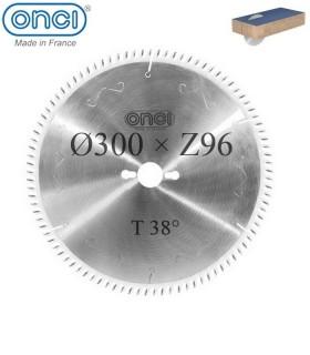 تیغ اره دیسکی الماسه MDF بر ONCI 300×30×Z96-38°