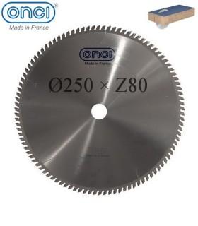 تیغ اره دیسکی الماسه MDF بر ONCI 250×30×Z80