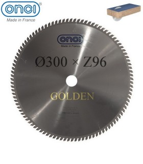 تیغ اره دیسکی الماسه MDF بر ONCI (GOLDEN LINE) - 300×30×Z96