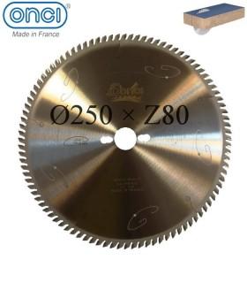 تیغ اره دیسکی الماسه MDF بر ONCI (GOLDEN LINE) - 250×30×Z80