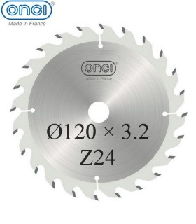 تیغ اره دیسکی الماسه خط زن ONCI 120×20×3.2-Z24