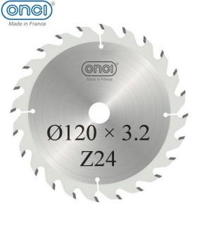 تیغ اره دیسکی الماسه خط زن تخت ONCI 120×20×3.2-Z24