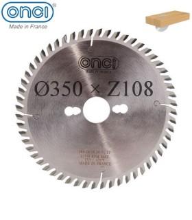 تیغ اره دیسکی الماسه چوب بر ONCI 350×30×Z108