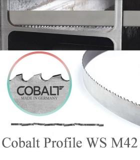 تیغ اره نواری بی متال برش لوله و پروفیل Cobalt - PROFILE WS M42