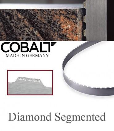 تیغ اره نواری با پوشش الماسه (مقاطع بزرگ) - Cobalt Diamond Segmented