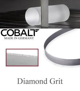 تیغ اره نواری با پوشش الماسه (مقاطع کوچک) - Cobalt Diamond Grit