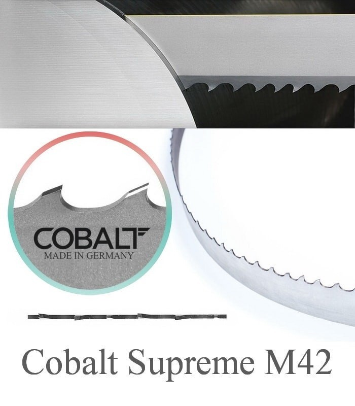 تیغ اره نواری بی متال برش فلزات سخت Cobalt - SUPREME M42