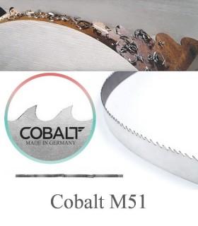 تیغ اره نواری بی متال برش فولاد آلیاژی کبالت - Cobalt M51
