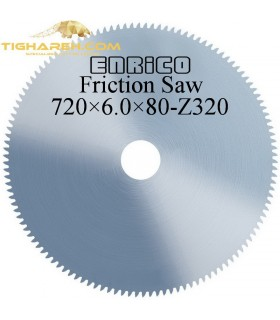تیغ اره دیسکی آتشی ENRICO - 720×6.0×80-Z320