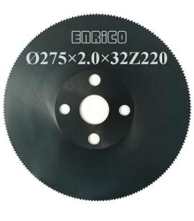 تیغ اره دیسکی آب صابونی آهن بر ENRICO - 275×2.0×32-Z220