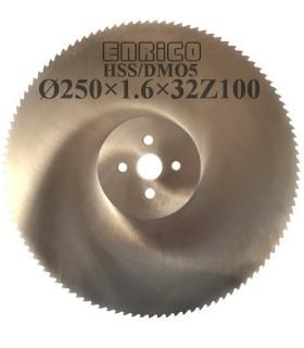 تیغ اره دیسکی آب صابونی آلومینیوم بر ENRICO - 250×1.6×32-Z100