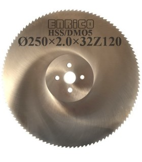 تیغ اره دیسکی آب صابونی آلومینیوم بر ENRICO - 250×2.0×32-Z120