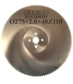 تیغ اره دیسکی آب صابونی آلومینیوم بر ENRICO - 275×2.0×40-Z110