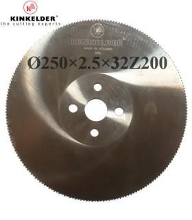 تیغ اره دیسکی آب صابونی فولاد بر Kinkelder - 250×2.5×32Z200