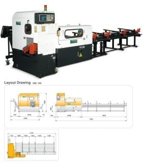 دستگاه اره دیسکی برش سریع فولاد Kentai KTC-150SP