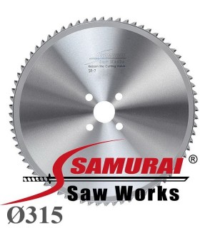 تیغ اره دیسکی الماسه برش فولاد - Samurai SR-7 Ø315