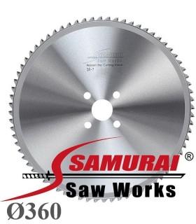تیغ اره دیسکی الماسه برش فولاد - Samurai SR-7 Ø360