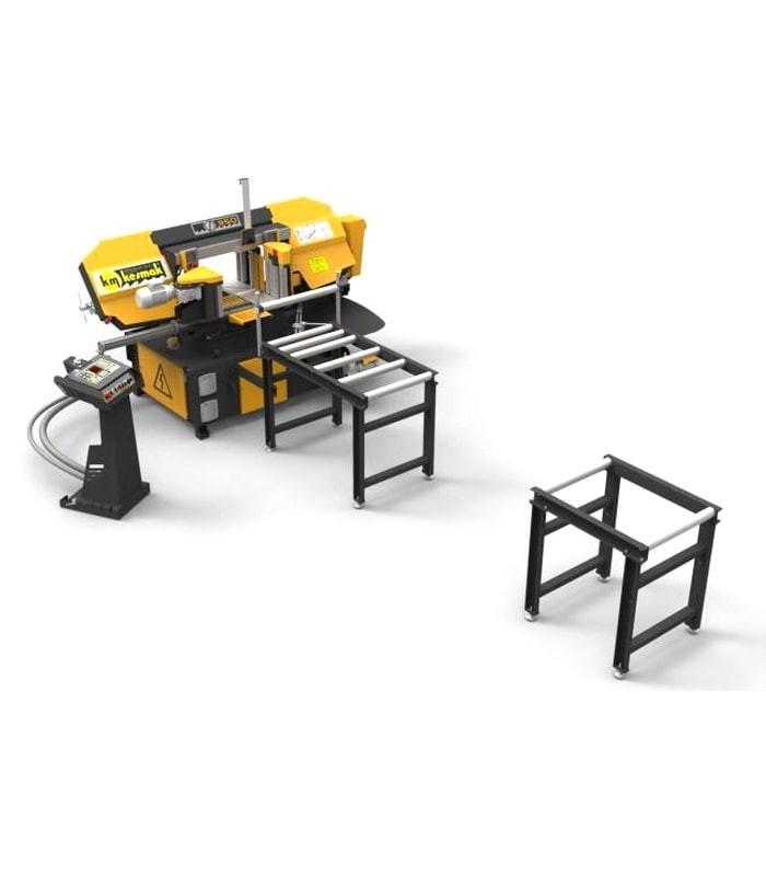دستگاه اره نواری اتوماتیک دو طرف زاویه زن KME 2DG 350