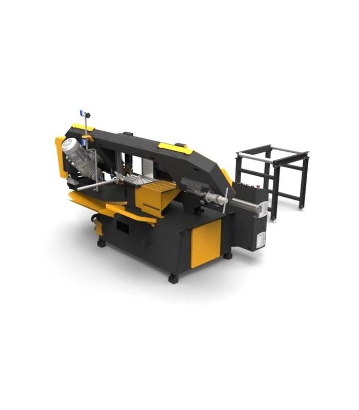 دستگاه اره نواری نیمه اتوماتیک زاویه زن KMY DG 350
